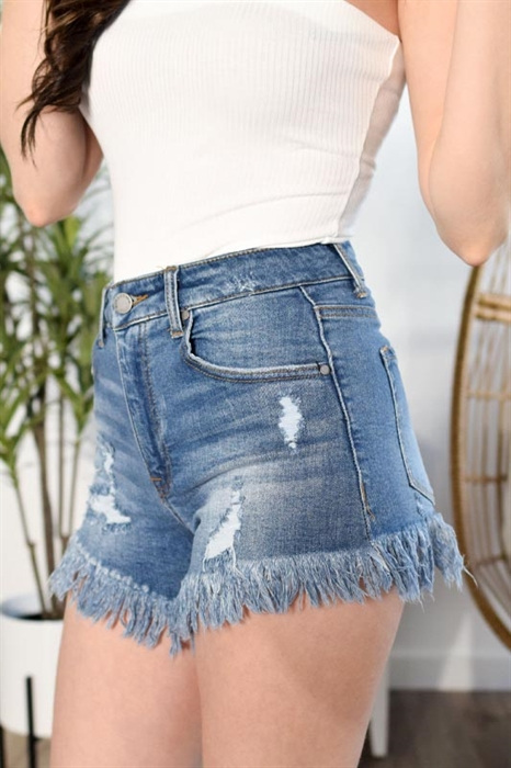Picture of Vintage Raw Hem Shorts
