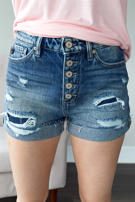 Picture of Jules Premium Button Up Shorts